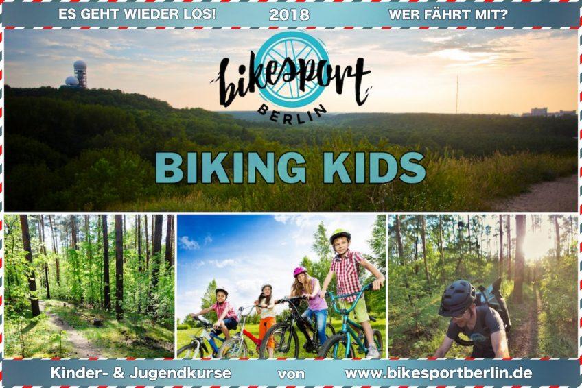 ABFRAGE BIKING KIDS 2018 – Mountain Bike Ausfahrten für Kinder und Jugendliche