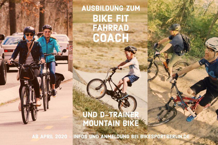 """Breitensportausbildung zum """"Bike-Fit Fahrrad-Coach"""" und """"Trainer-D Mountain Bike"""" des BDR"""