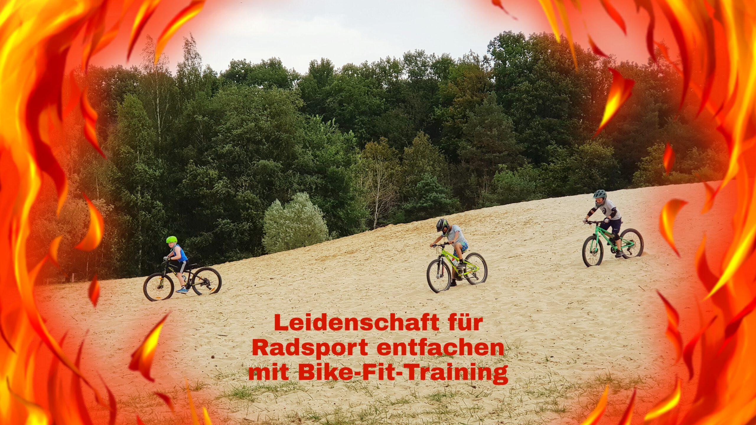 Biking Kids Bike-Fit-Training Feuer der Leidenschaft für Radfahren entfachen